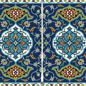 Curtains Moroccan Filigree Print Backdrop 25289